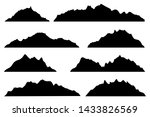 vector graphics set of... | Shutterstock .eps vector #1433826569