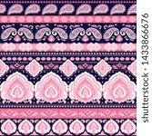 indian rug tribal ornament... | Shutterstock .eps vector #1433866676