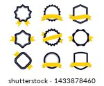 ribbons and labels. design... | Shutterstock .eps vector #1433878460