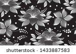 pattern seamless of white... | Shutterstock .eps vector #1433887583