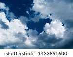 blue sky background with... | Shutterstock . vector #1433891600