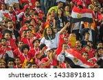 fans of egypt support their... | Shutterstock . vector #1433891813