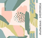 abstract artistic seamless...   Shutterstock .eps vector #1433903816