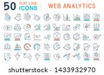 set of line icons of web... | Shutterstock . vector #1433932970