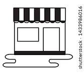 shopping and e commerce store... | Shutterstock .eps vector #1433986016