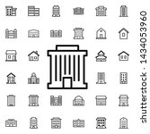 bank building icon. universal... | Shutterstock . vector #1434053960