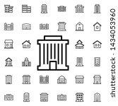 bank building icon. universal...   Shutterstock . vector #1434053960