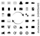 refresh sign icon. universal...