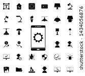 phone setup icon. universal set ...