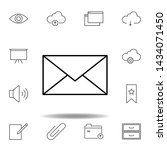 email message outline icon....