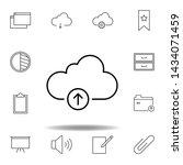 cloud storage upload outline...