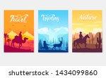 animal in their natural habitat ... | Shutterstock .eps vector #1434099860