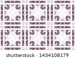 colorful seamless pattern for... | Shutterstock . vector #1434108179