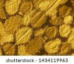 crumpled foil. abstract...   Shutterstock . vector #1434119963