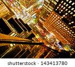 rush hour on 42nd street in new ... | Shutterstock . vector #143413780