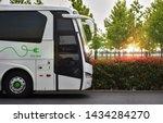 Electric Bus. Concept Of E Bus...