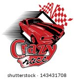 crazy race | Shutterstock .eps vector #143431708