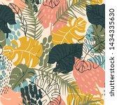 abstract creative seamless... | Shutterstock .eps vector #1434335630