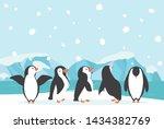 Winter North Pole Arctic...