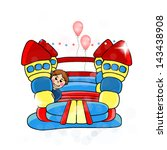 activity,air,amusement,blue,bounce,bouncy,boy,cartoon,castle,child,childhood,childrens,colorful,day,design
