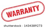 warranty square grunge isolated ... | Shutterstock .eps vector #1434389273