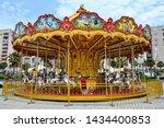 Colourful Children's Carousel...
