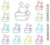 women's day  heart  box ...