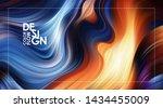 vector illustration  modern... | Shutterstock .eps vector #1434455009