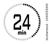 the 24 minutes countdown timer...