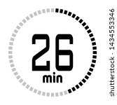 the 26 minutes countdown timer...