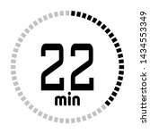 the 22 minutes countdown timer...