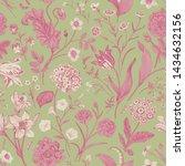 seamless vector vintage floral... | Shutterstock .eps vector #1434632156