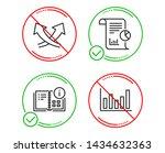 do or stop. intersection arrows ...   Shutterstock .eps vector #1434632363