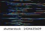 glitch digital color pixel...   Shutterstock .eps vector #1434635609