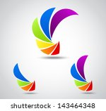 set of business icons .... | Shutterstock . vector #143464348