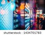financial stock exchange market ... | Shutterstock . vector #1434701783