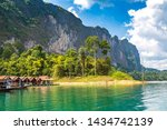 Traditional Thai Bungalows At...