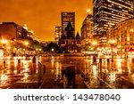 Boston Copley Square On A...