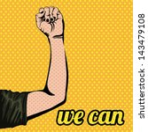 we can over orange grunge... | Shutterstock .eps vector #143479108