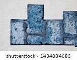 raw old bricks with plaster | Shutterstock . vector #1434834683