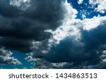 blue sky background with... | Shutterstock . vector #1434863513