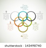 sport background  infographic... | Shutterstock .eps vector #143498740