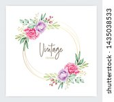 Soft Watercolor Roses Wedding...