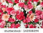 Rose Flowers Mixed Bouquet