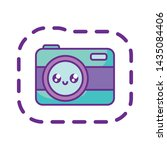 camera photographic device...   Shutterstock .eps vector #1435084406
