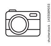 photographic camera device... | Shutterstock .eps vector #1435089053