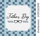 happy father day vintage gift... | Shutterstock .eps vector #1435162340