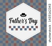 happy father day vintage gift... | Shutterstock .eps vector #1435162343