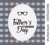 happy father day vintage gift... | Shutterstock .eps vector #1435162346