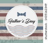 happy father day vintage gift... | Shutterstock .eps vector #1435162349